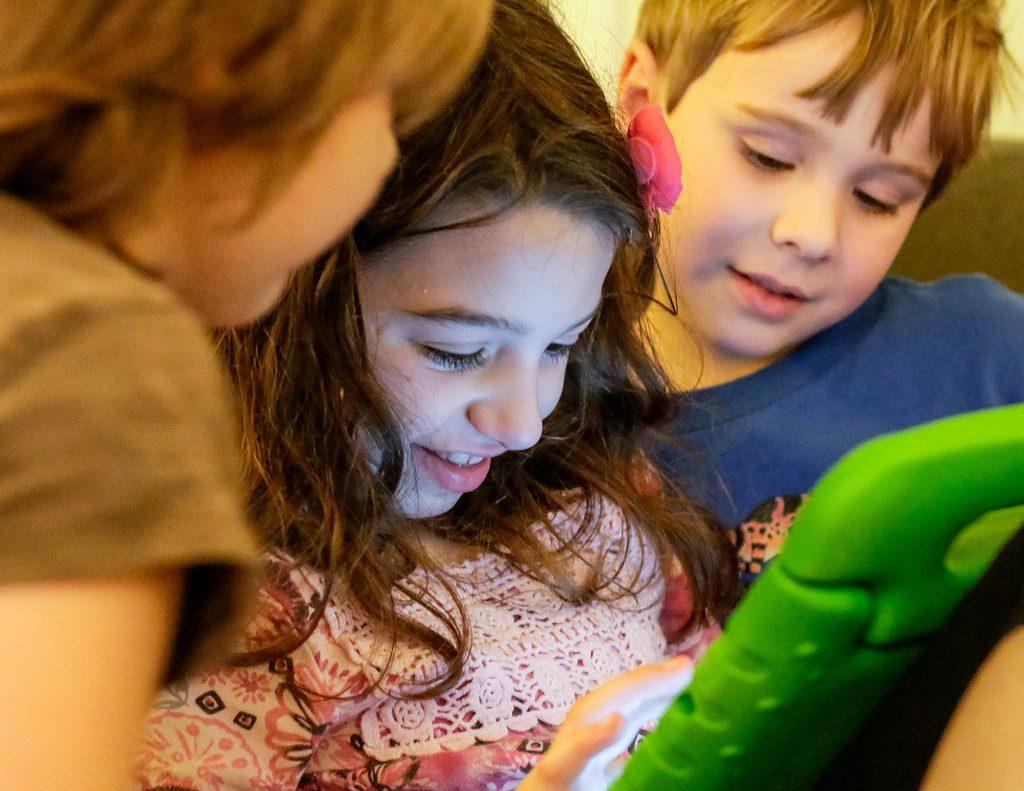 los niños y las tablets 3