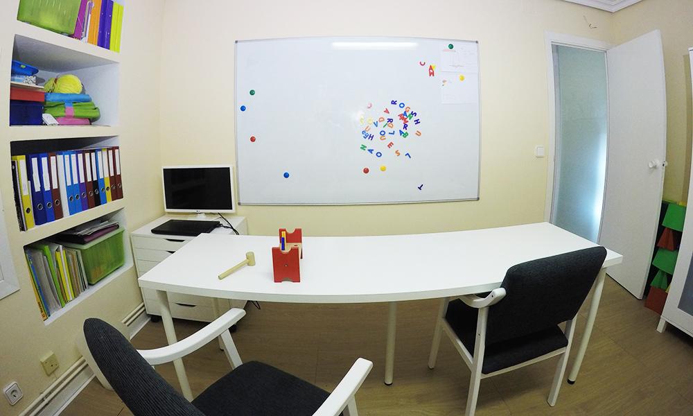 Aula de neurodsarrollo para niños en centro Sábilis